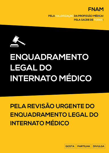 Enquadramento legal do internato médico
